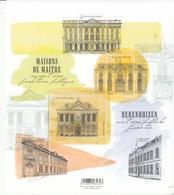2018 Belgium Public Buildings Architecture Souvenir Sheet MNH  @ BELOW FACE VALUE - Belgien