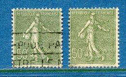 France - YT N° 198 - Oblitéré Et Neuf Sans Charnière - 1924 à 1932 - Francia