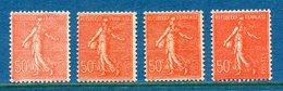 France - YT N° 199 - Neuf Avec Charnière Et Sans Charnère - 1924 à 1932 - Francia