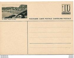 """163 - 63 - Entier Postal Neuf Avec Illustration """"Le Pont Vallée De Joux"""" - Ganzsachen"""