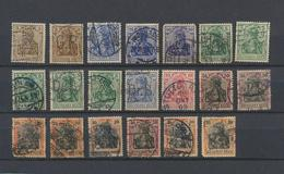 Perforés   Perfins   Reich  - Firmenlochung  -lot Important De 173 Timbres - Voir Explications - Collections