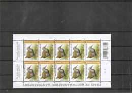 Belgique - Oiseaux - Buzin ( 4671 En Feuille De 10 XXX -MNH) - Feuilles Complètes