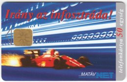HUNGARY D-852 Chip Matav - Sport, Formula One, Ayrton Senna - Used - Ungarn