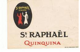 Buvard Saint Raphaël QUINQUINA - Liquore & Birra