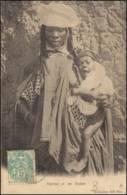15-2 -- AFRIQUE - Négresse Et Son Enfant CPA 1905 - Sudáfrica