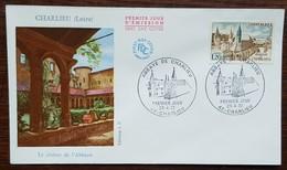 FDC 1972 - YT N°1712 - ABBAYE DE CHARLIEU - 1970-1979