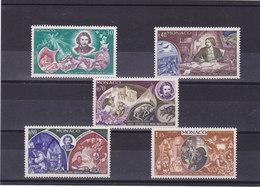 MONACO 1969 DAUDET Yvert 792-796 NEUF** MNH - Monaco
