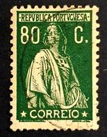 1930-1931 Ceres 80c, Republica Portuguesa, Portugal, *, ** Or Used - Usado