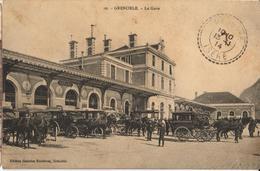 38 - GRENOBLE - LA GARE - Grenoble