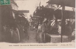 75 - PARIS - UN COIN DU MARCHE DE LA RUE DE LA CONVENTION - Other