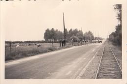 Foto Photo ( 6 X 9cm) Chemin De Fer Spoorweg Koers Course Wielrenner Coureur Velo Fiets Waterloo  ? - Waterloo