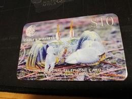 DIEGO GARCIA 4X $10,- Crabs  DG23-DG26 NICE FINE USED CARDS    **531** - Diego-Garcia