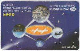 SOUTH KOREA A-863 Magnetic Telecom - Used - Corée Du Sud