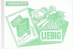 Buvard LIEBIG BUVARD N°7 POTAGE BELLE SAISON Aux Légumes - Suppen & Sossen