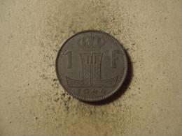MONNAIE BELGIQUE 1 FRANC 1944 - 1934-1945: Leopold III