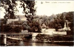NAMUR -La Sambre, Le Monument Et La Citadelle - Oblitération De 1933 - Ern. Thill, Série 16 N°44 - Namur