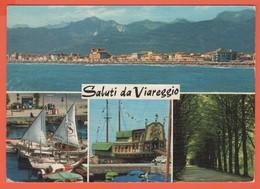ITALIA - ITALY - ITALIE - 1966 - Missed Stamp - Viareggio - Saluti Da Viareggio - Multivues - Viaggiata Da Viareggio Per - Viareggio