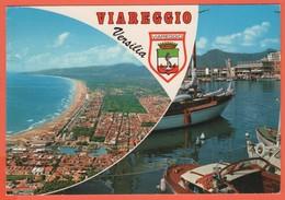 ITALIA - ITALY - ITALIE - 1972 - Missed Stamp + Flamme Fiera Del Libro - Viareggio - Versilia - Multivues - Viaggiata Da - Viareggio