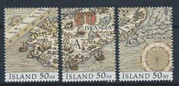 Islande 1991 N°699/701  Neufs Issus Du Bloc 12 , Expo Philatélique Nordia 91 - Unused Stamps