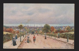 View Of Aberdeen From Moringfield Road - 1920s - Unused - Aberdeenshire