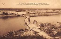 DIXMUDE - Souvenir De La Guerre 1914-18 - YSER - Passerelle Sur Bois De Liège Jetée Par Le Génie Belge - Diksmuide
