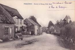 CPA   Feugeres (50)  Entrée Du Bourg Coté Sud     Ed ??? - Altri Comuni
