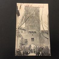 84-VAUCLUSE- RICHERENCHES / Tour De L'horloge Et Rue De La Commanderie - France