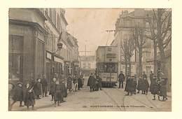 93 - ROSNY SOUS BOIS - La Rue De Villemomble - 1904 - RARE ,#93/003 - Rosny Sous Bois