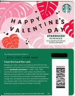 "USA - Happy Valentine""s Day, Starbucks Card(reverse 2), CN : 6176, Unused - Cartes Cadeaux"