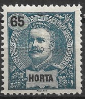 Horta – 1898 King Carlos 65 Réis - Horta