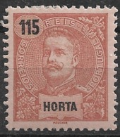 Horta – 1898 King Carlos 115 Réis - Horta