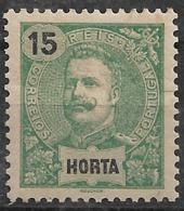 Horta – 1898 King Carlos 15 Réis - Horta