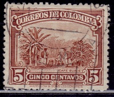 Colombia 1932, Coffee Cultivation, 5c, Used - Colombia