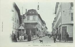 ".CPA FRANCE 74 "" Thonon Les Bains, Rue Des Arts"" - Thonon-les-Bains"