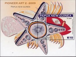 Papua New Guinea 2009 Pioneer Art 2 Sc 1373 Mint Never Hinged - Papua New Guinea