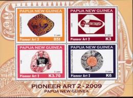Papua New Guinea 2009 Pioneer Art 2 Sc 1372 Mint Never Hinged - Papua New Guinea