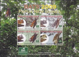 Papua New Guinea 2009 Bats Sc 1399 Mint Never Hinged - Papua New Guinea
