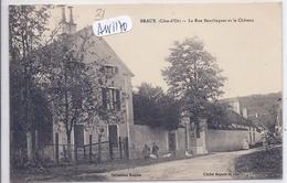 BRAUX- LA RUE BEURLINGUET ET LE CHATEAU - Altri Comuni