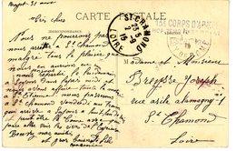 PUY DE DOME CP 1915 ROYAT HOPITAL TEMP N°33 ROYAT - 1877-1920: Période Semi Moderne