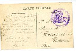 PUY DE DOME CP 1915 CHATEL GUYON HOPITAL N°66 CHATEL GUYON - 1877-1920: Période Semi Moderne