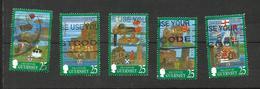 Guernesey N°771, 773, 775, 776, 778 Cote 6.25 Euros - Guernsey