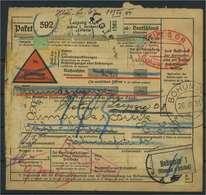 Paketkarte 1934 LEIPZIG Siehe Beschreibung (116621) - Deutschland