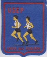 Ecusson Tissu - USEP - Cross Des Ecoliers - Athlétisme - Sport - Compétition - Patches