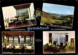 Cp Schönberg Seelbach In Bade Württemberg, Passhöhenhotel Geroldseck, Empfangshalle, Appartement - Germania