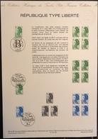 France - Document Philatélique - FDC - Premier Jour - Marianne - YT Nº 2483 à 2485 - 1987 - FDC