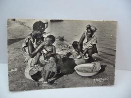 AFRIQUE SÉNÉGAL 756. A.O.F. FEMMES MAURES CPSM FORMAT CPA 1956 Robel B ;p  507 Dakar - Senegal