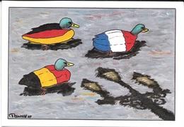 CPM - 95 - ENGHIEN-les-BAINS - Festival De La C.P. Et Du Graphisme Les 7/8 Juin 1997 - Le Lac Des Canards Par P. GAUTHIé - Other Illustrators