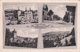 Alte Ansichtskarte Aus Zuckmantel ( Zlaté Hory ) -Mehrbildkarte- - Sudeten