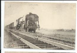 Donzere Train Marseille Paris , Locomotive à Vapeur - Donzere