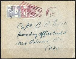 169 - HONDURAS - 1899 - UNCOMMON OVPT - COVER - FAUX, FORGERY, FALSE, FAKE, FALSCH, FALSO... - Briefmarken